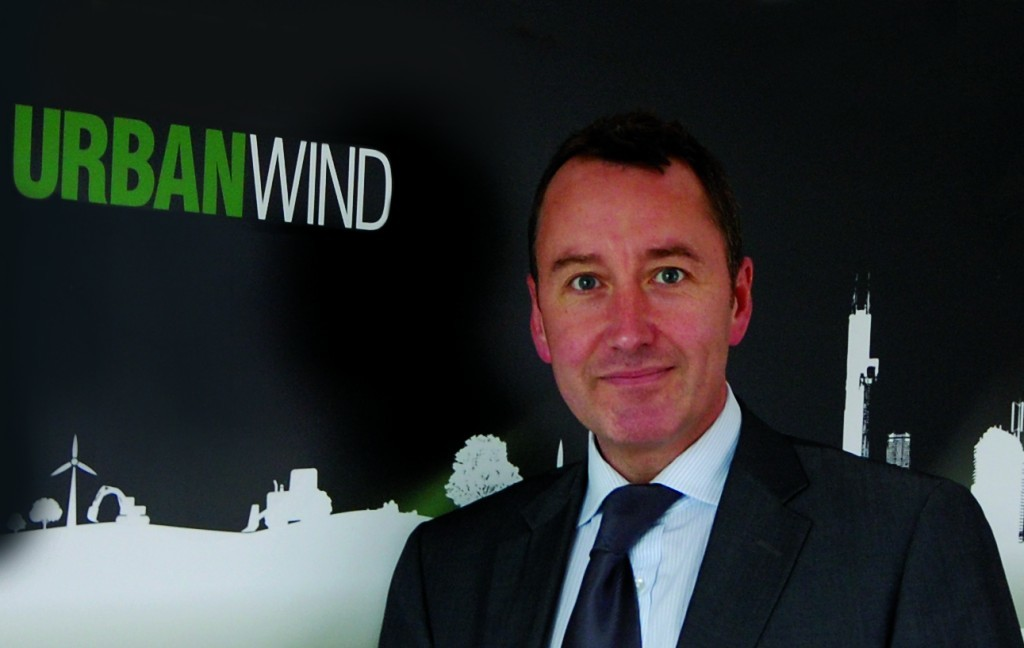 Paul McCullagh, chief exeucitve of full solution wind technology  provider UrbanWind