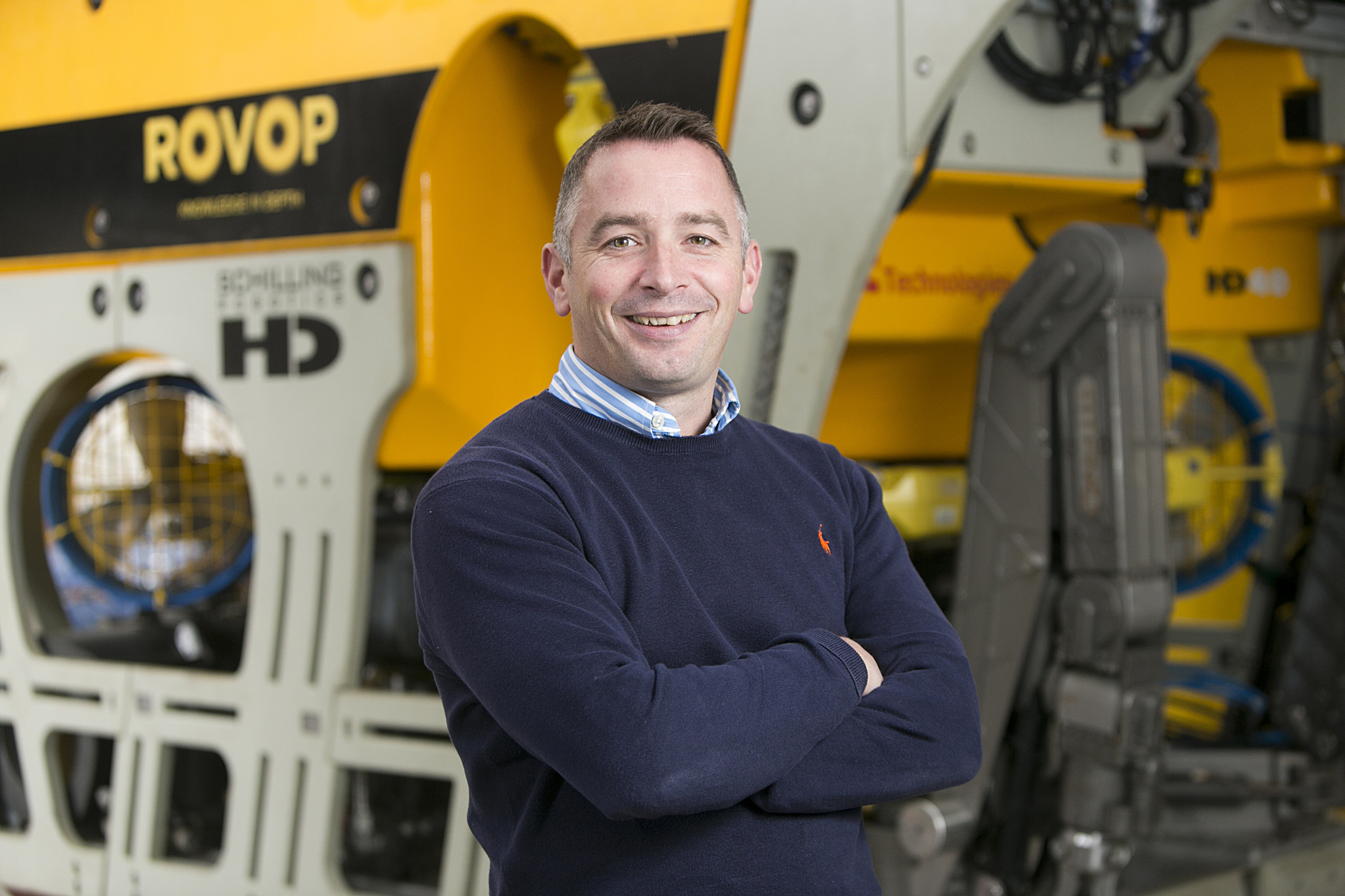 Euan Tait has been apponted as ROVOP's new commercial director