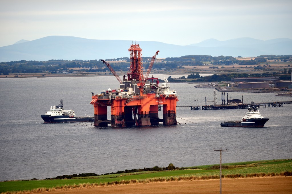 The oil rig, West Phoenix.