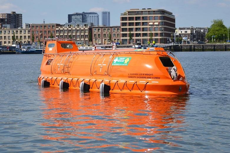 Oceanwide lifeboat