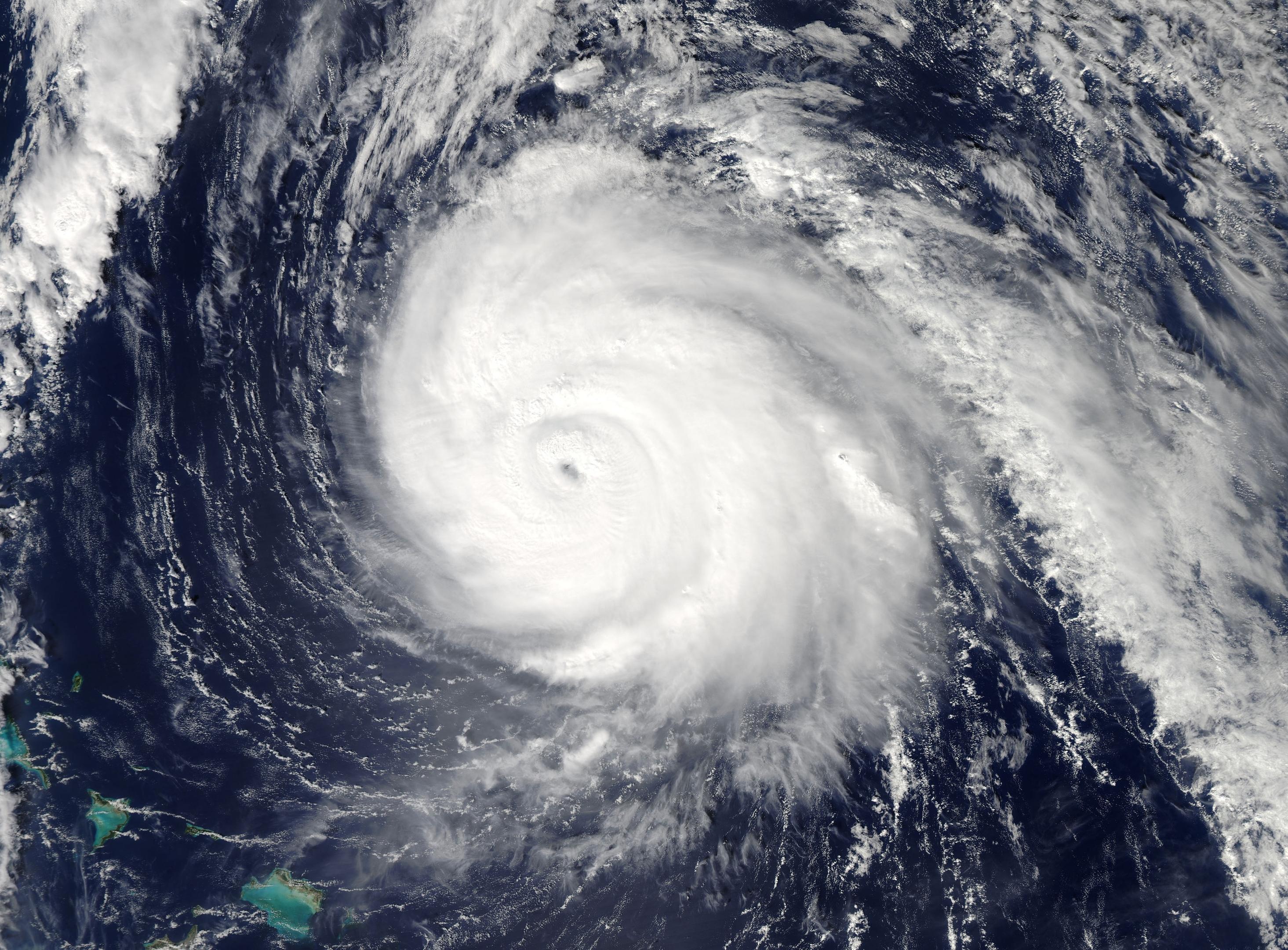 Storm Irma may hit Haiti hard.
