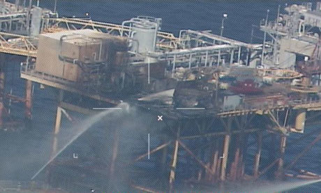 The 2012 incident in the Gulf of Mexico
