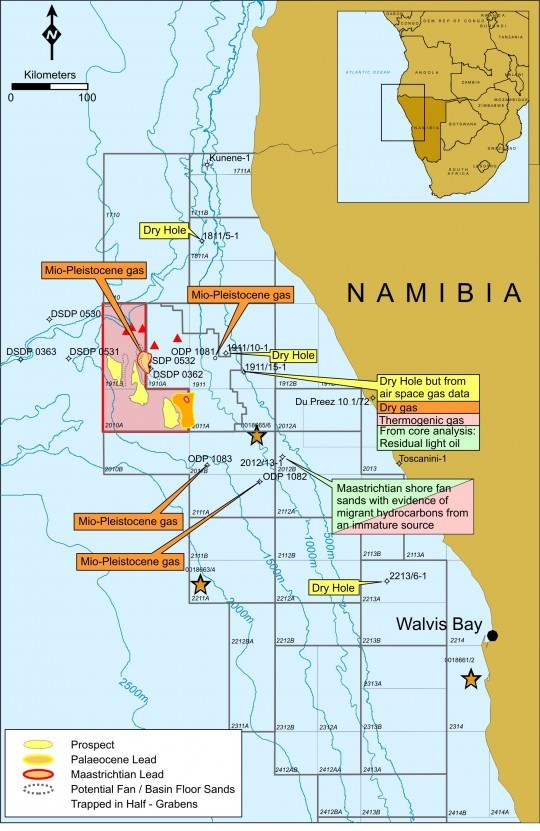 Global Petroleum, Namibia