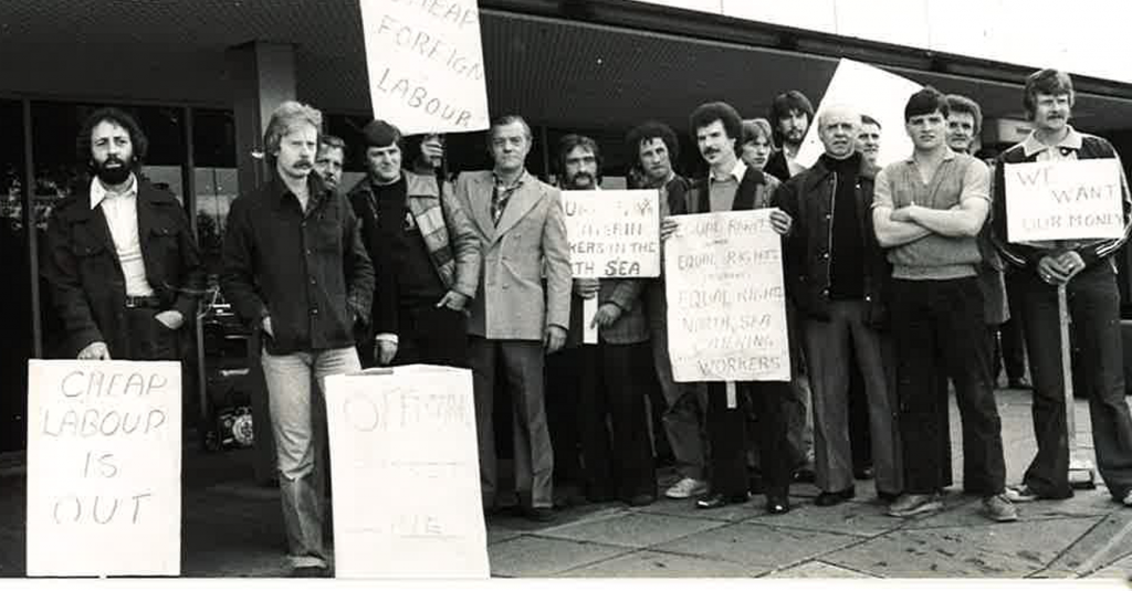Staff on 10 installations stopped work in July 1979. Nearly 40 installations stood to hit as more than 500 men took action over pay
