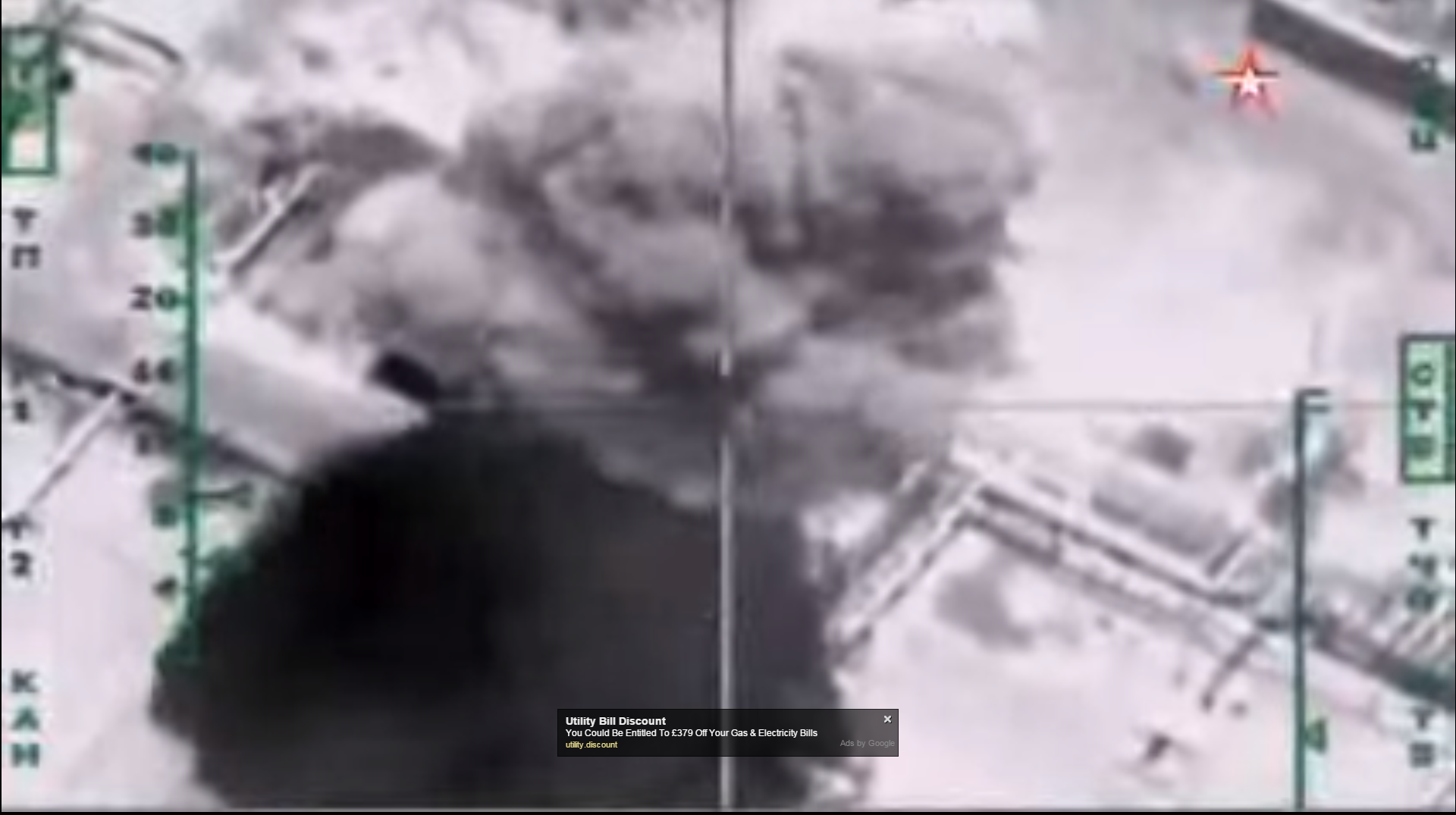 Russian strikes on ISIS oil tankers