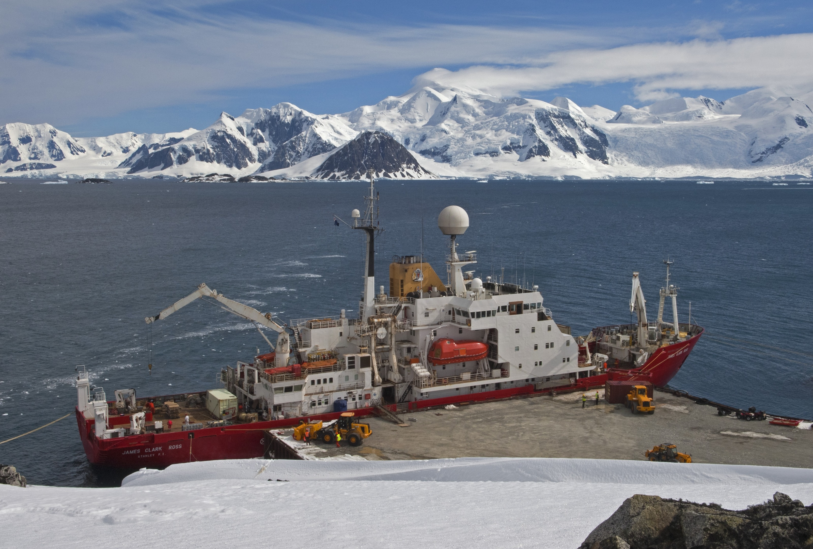 Temperatures at Rothera can drop to -20C in the winter months