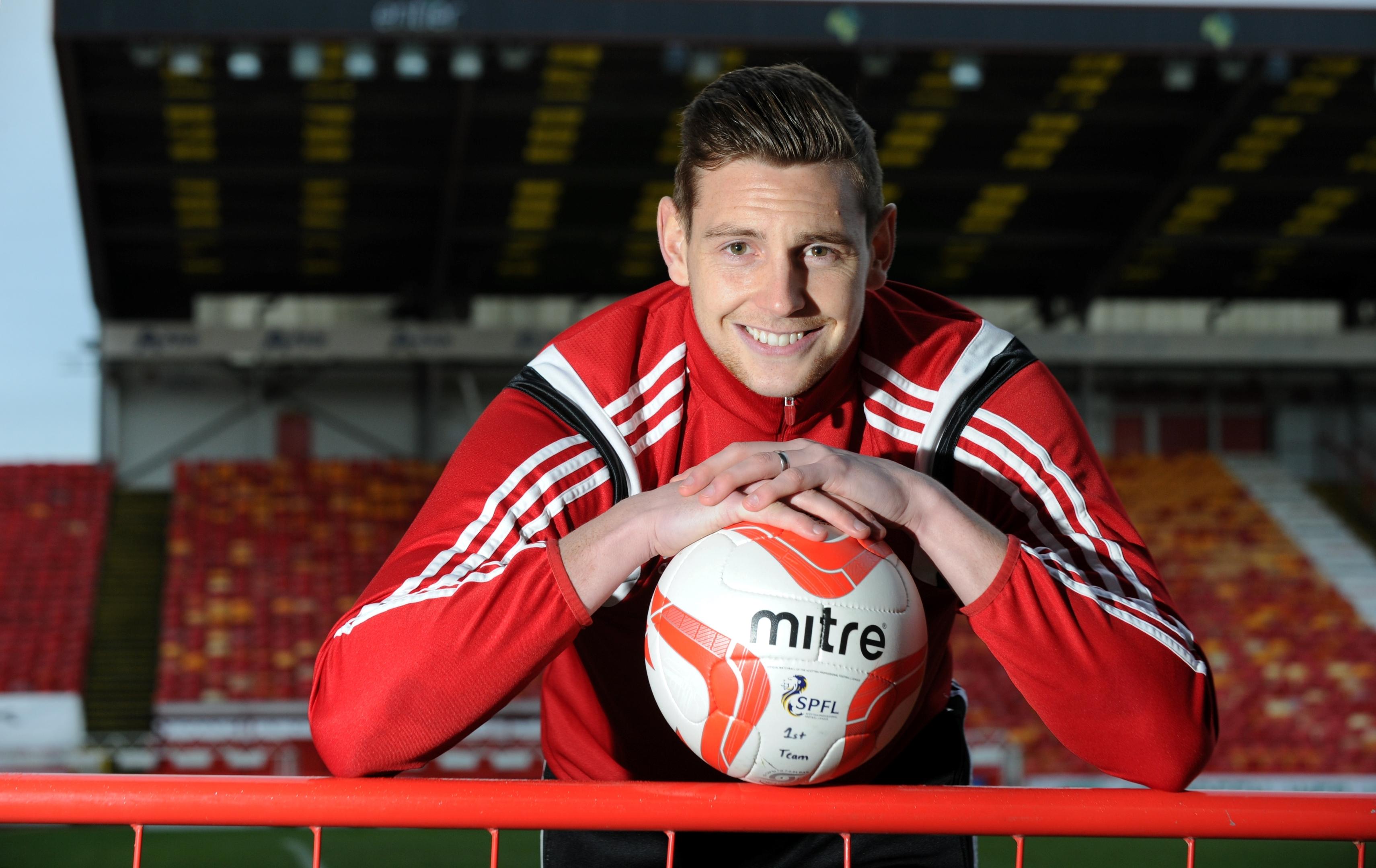 Aberdeen Football Club player Ashton Taylor