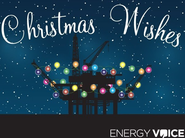Energy Voice's Christmas Wishes campaign
