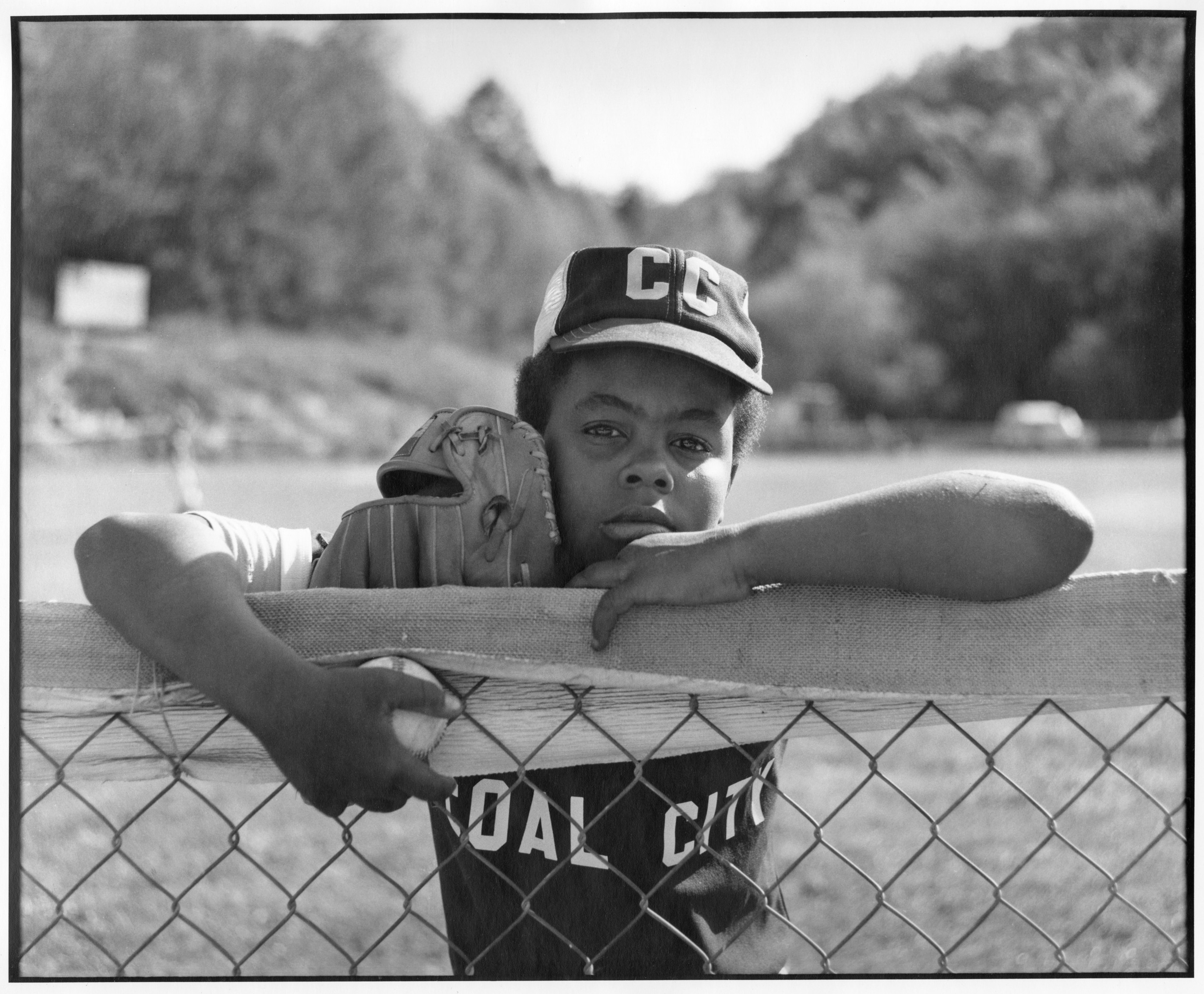 Image of young baseball player. Credit: Ted Wathen