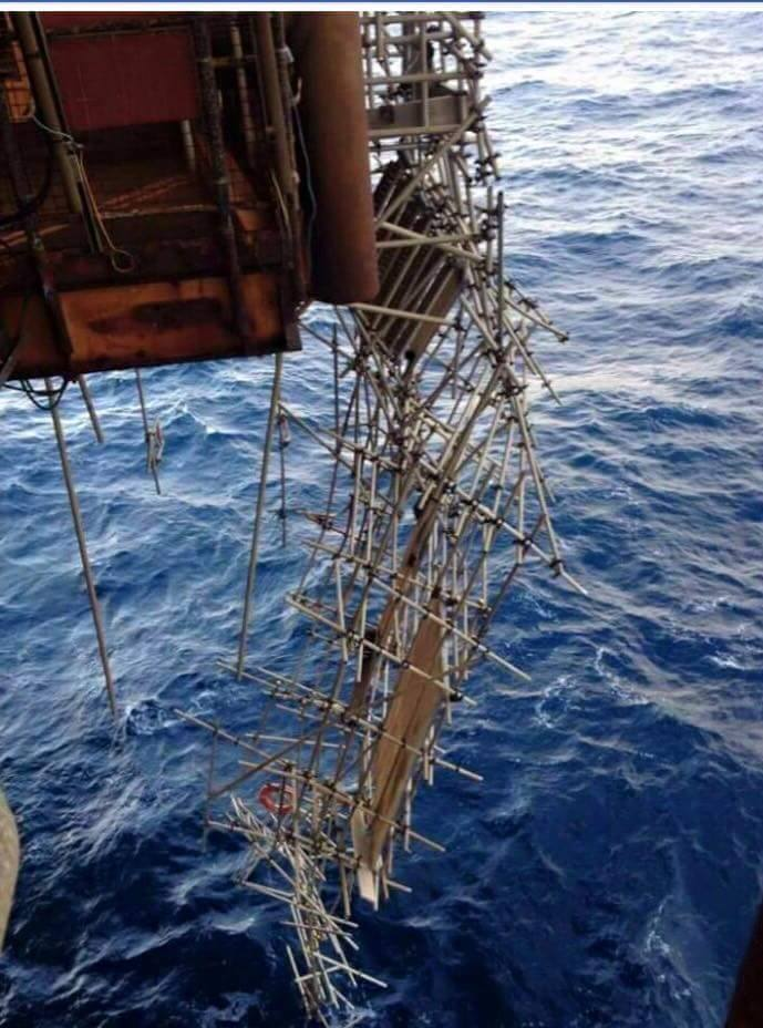 Shell's Brent Delta platform suffered severe damage