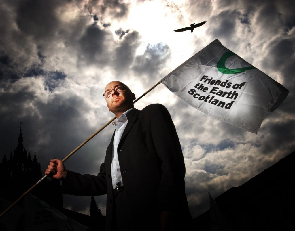 Green MSP Patrick Harvie