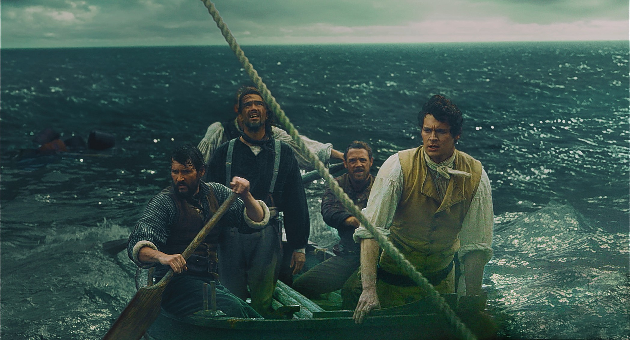 Undated Film Still Handout from In the Heart of the Sea. PA Photo/Warner Bros/Jonathan Prime.