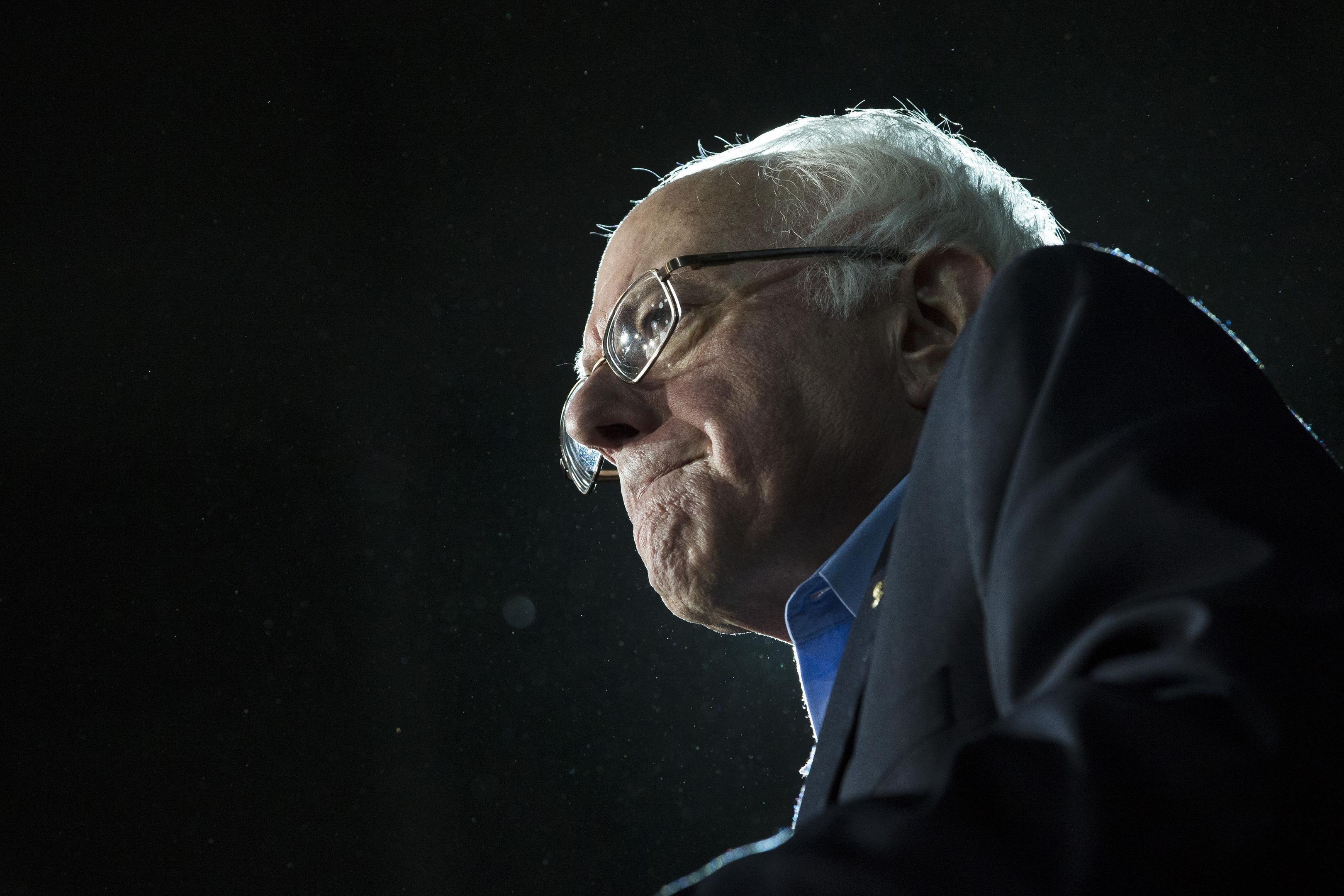 Former Democratic presidential candidate Sen. Bernie Sanders
