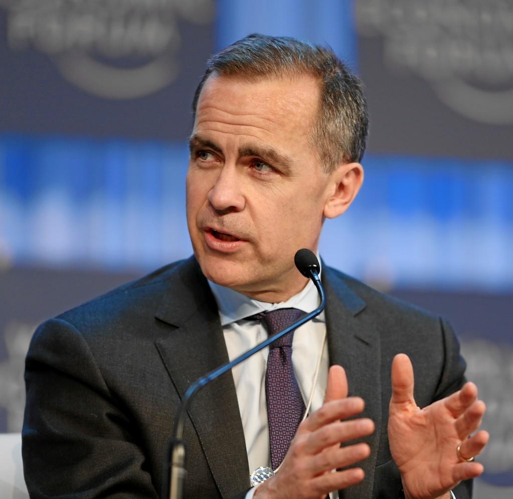 Mark Carney, Bank of England