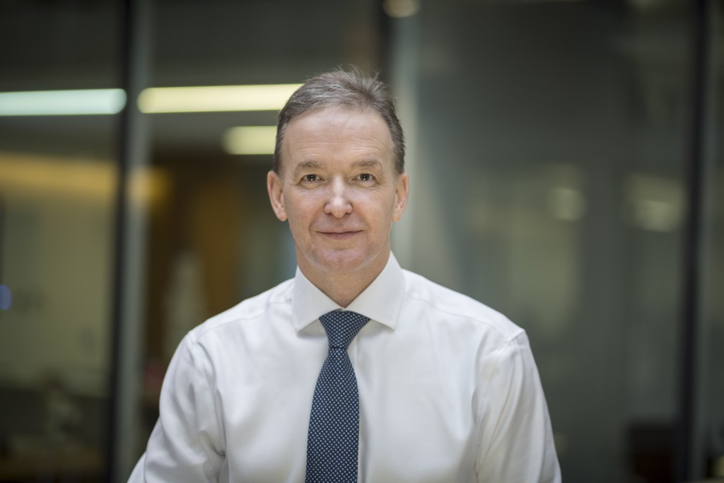 Robin Watson, chief executive of Wood.