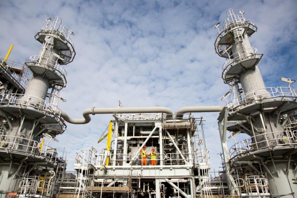 Total's Shetland Gas Plant