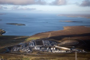 Fire breaks out at Shetland Gas Plant