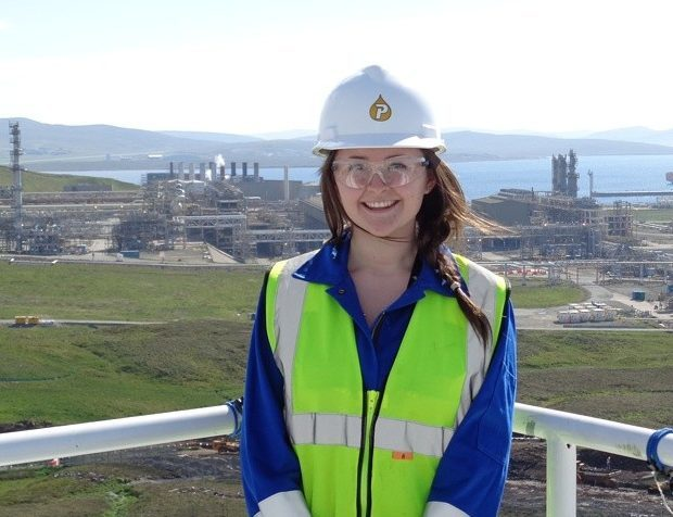 Ashley Manson, who worked on the Laggan-Tormore plant for two and a half years.