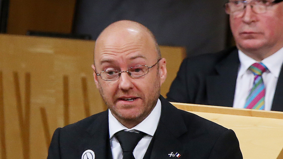 Patrick Harvie is co-leader of the Scottish Green Party