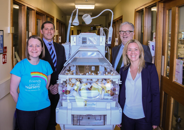 Petrofac's Special Nursery donation