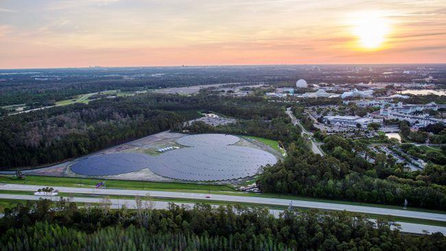 Walt Disney solar plant is Mickey Mouse shaped