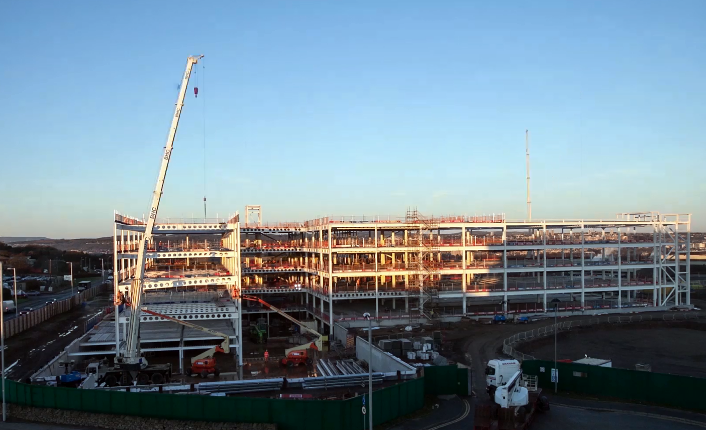 Timelapse of the new Sir Ian Wood building