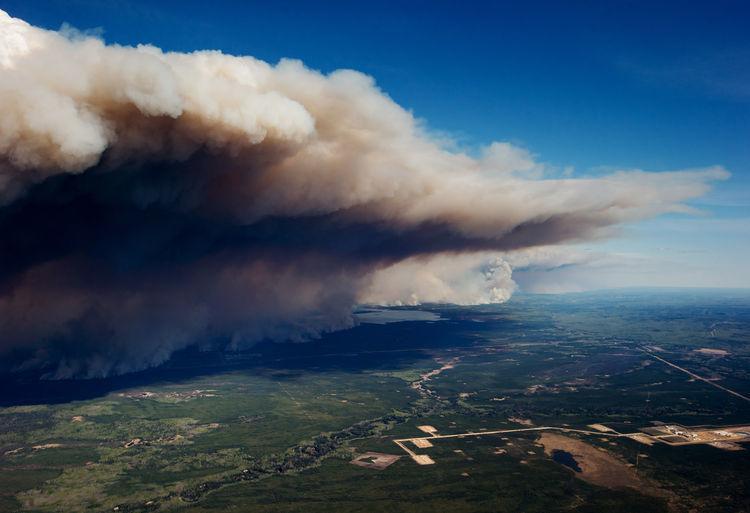 Alberta oil sands fires