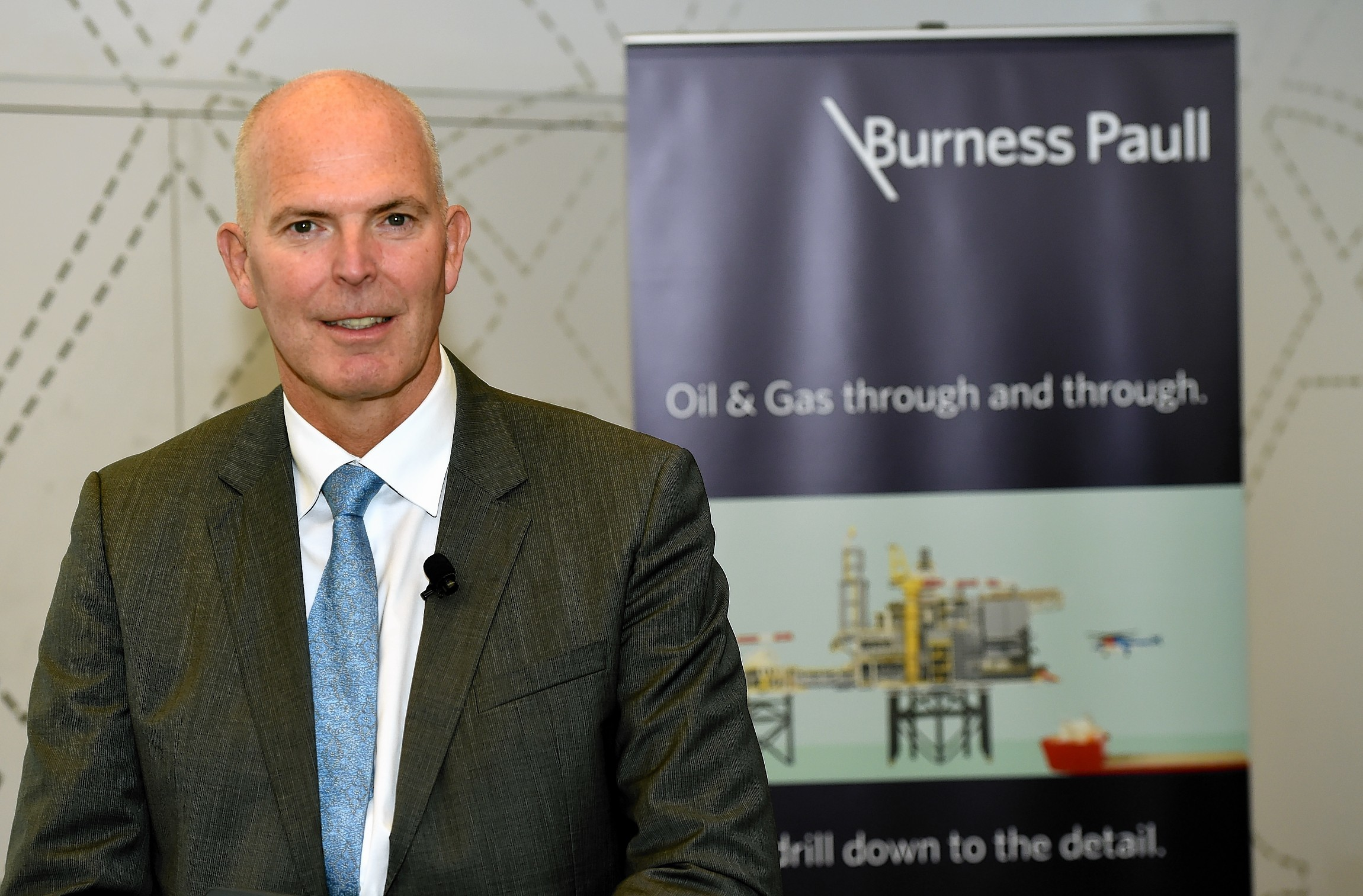 Colin Welsh, , the Aberdeen-based head of international energy investment at Simmons and Company.