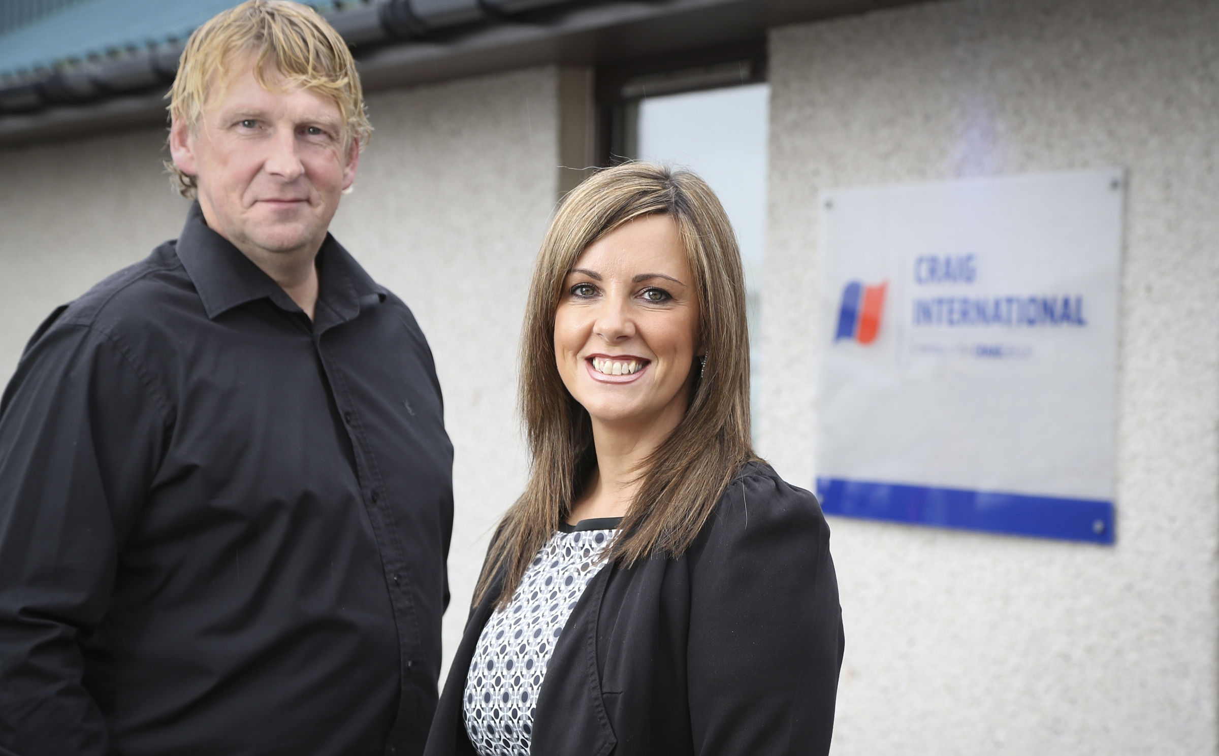 Steve McHardy and Jill MacDonald, joint managing directors of Craig International, which has launched the pioneering Craig Collaboration platform.