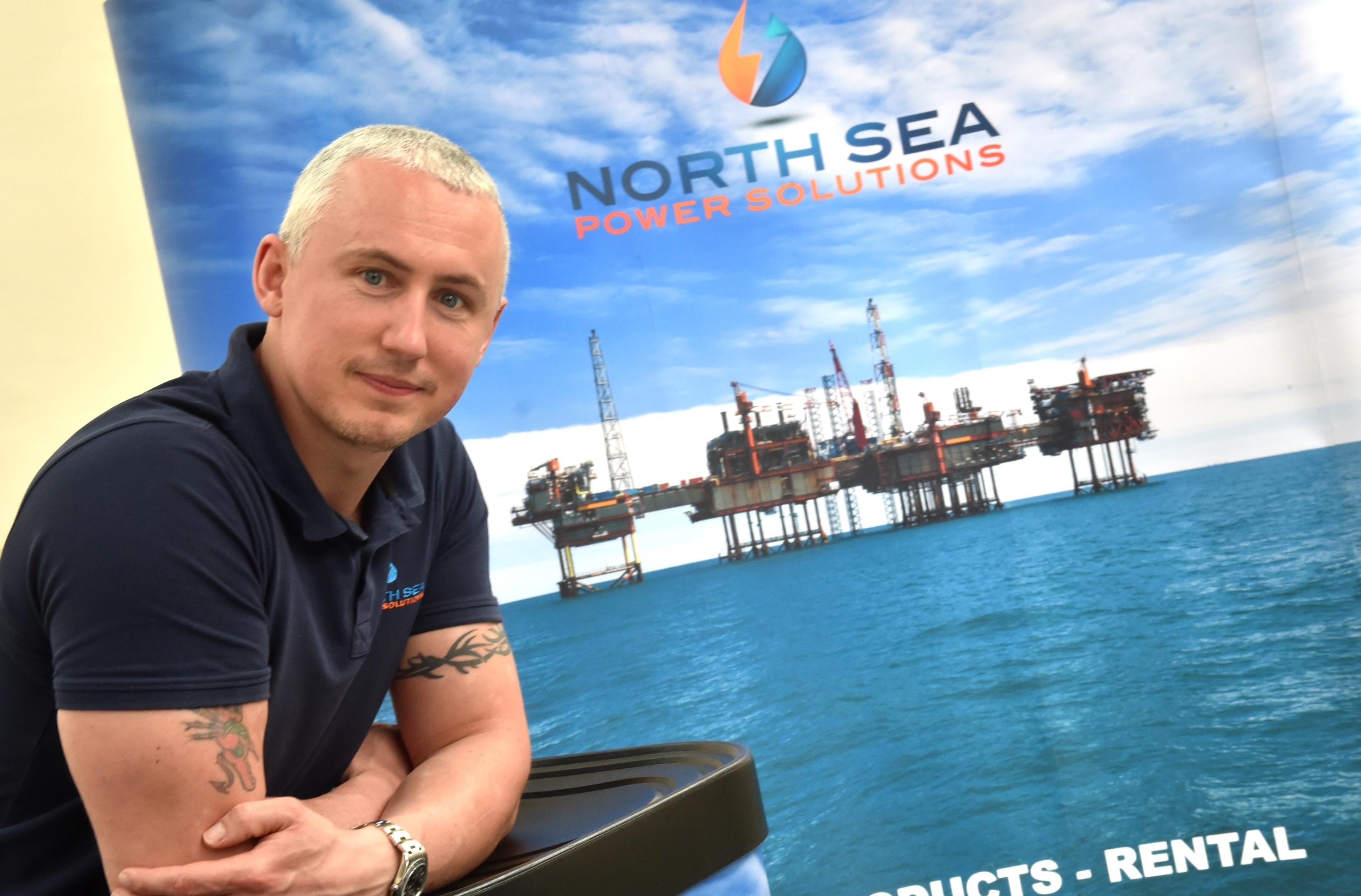 North Sea Power Solutions managing director Graeme Harper.