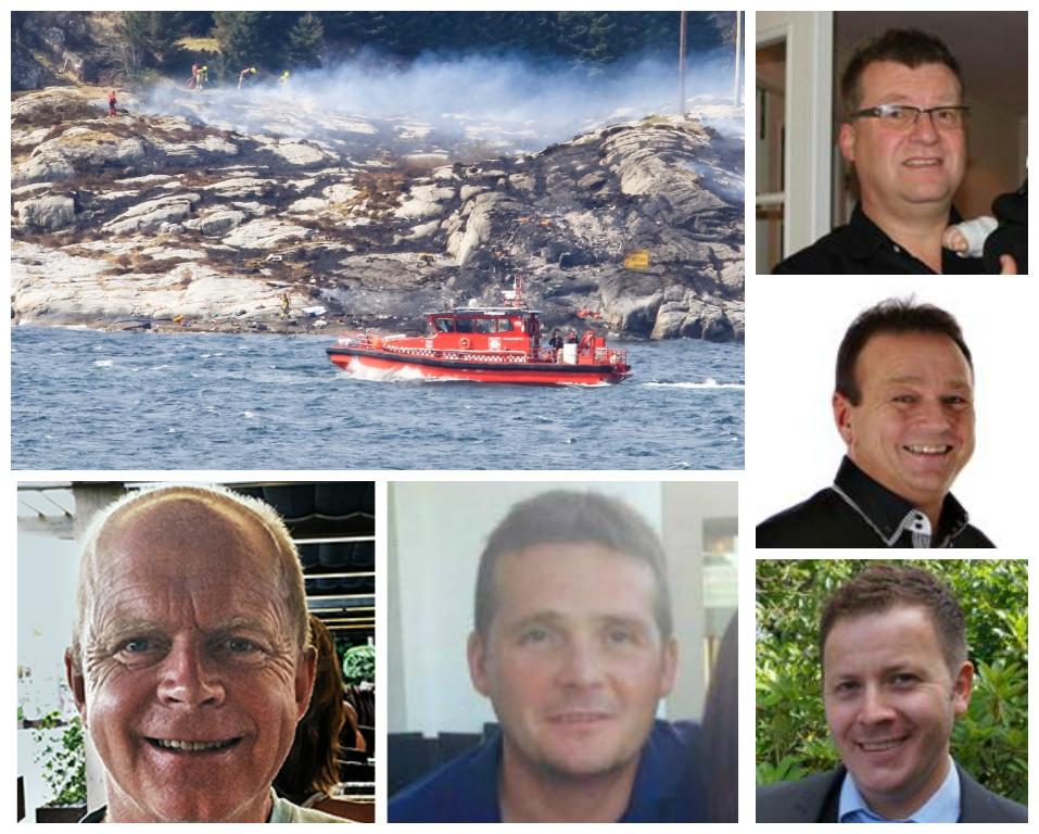 North Sea helicopter crash: April 29th