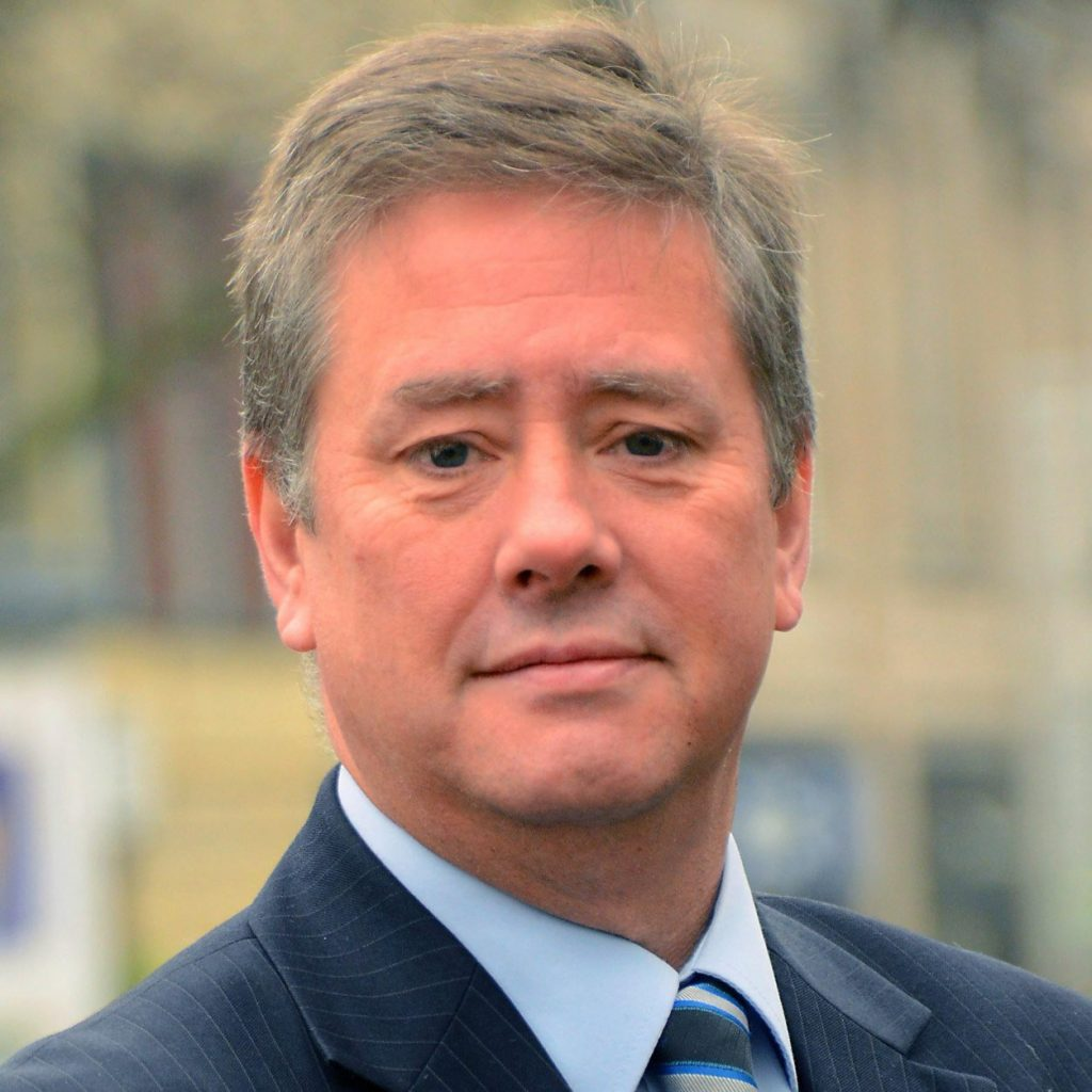 Economy Secretary Keith Brown