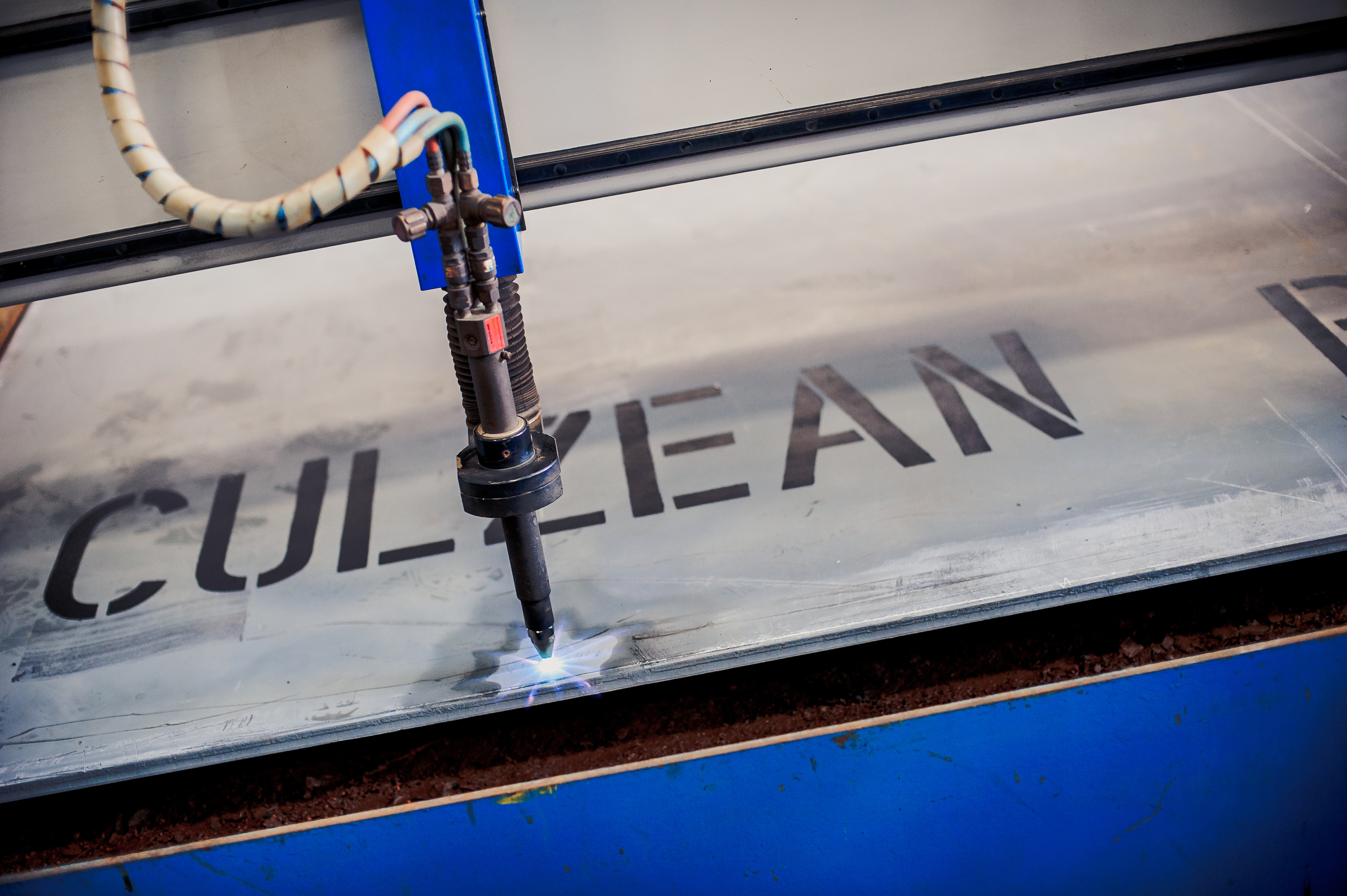 The steel cutting for the first of the three Culzean topsides took place in April.