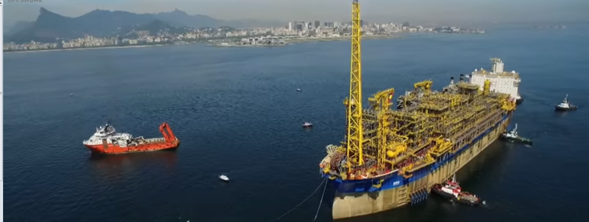 SBM Offshore has marked first oil