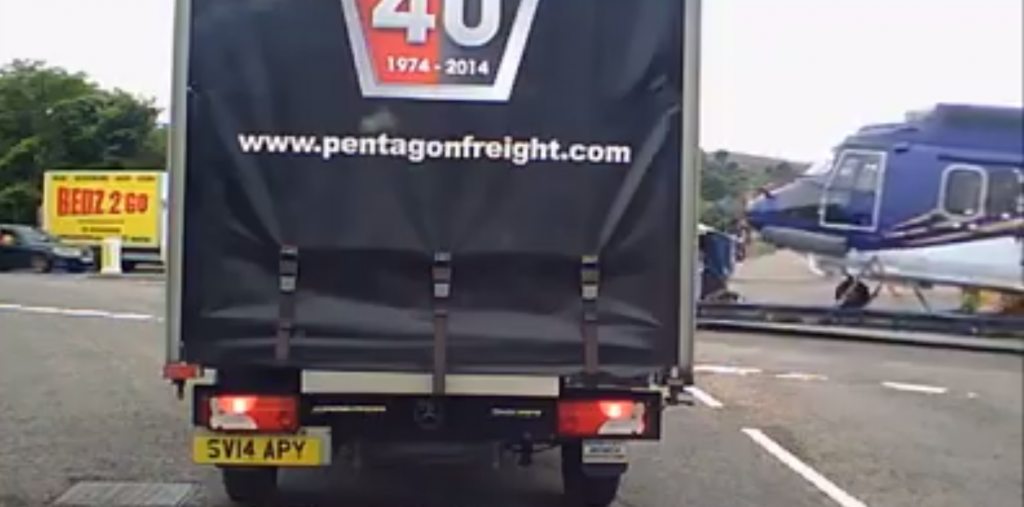 Video footage of Super Pumas leaving Aberdeen has gone viral.