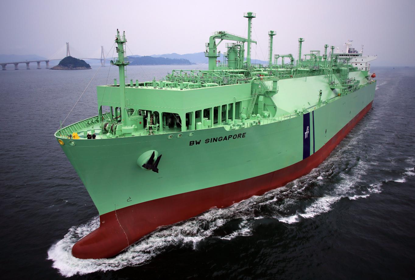 A BW LNG tanker