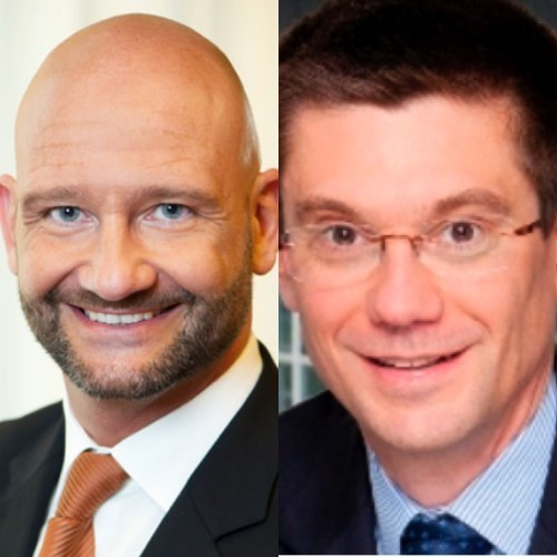 Cavin Pietzsch and Patrick Plas