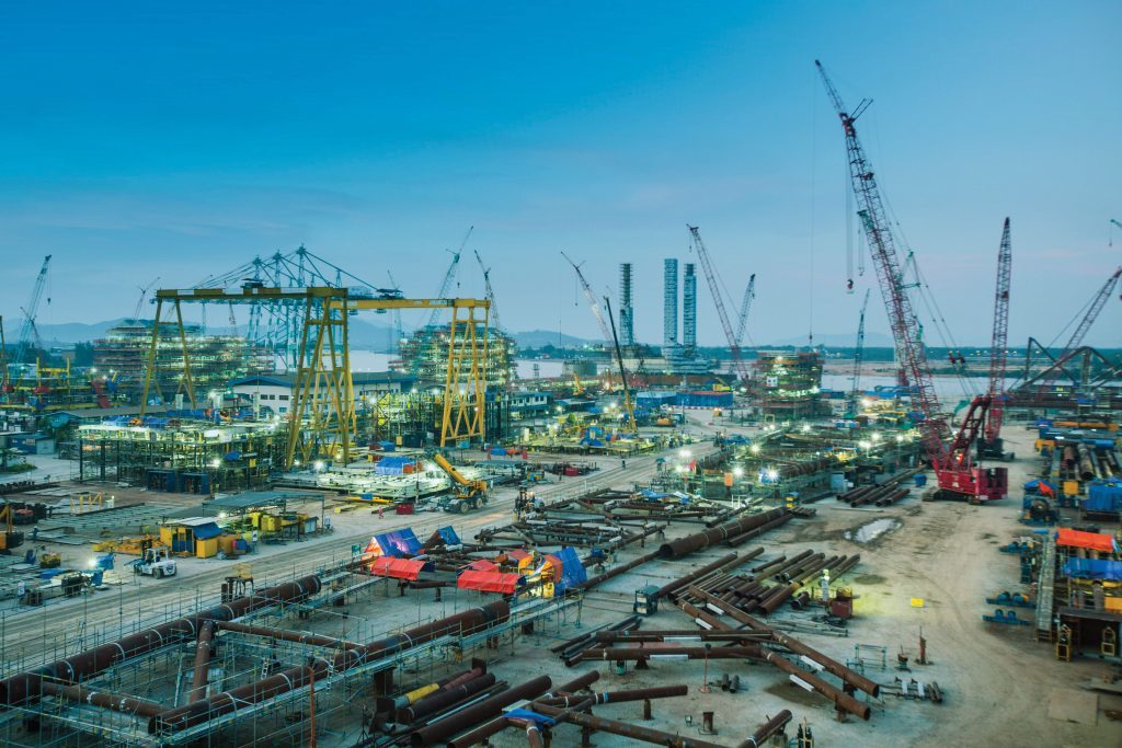 SapuraKencana's fabrication yard at Lumut, Sparrows Group will collaborate with the firm across Malaysia.