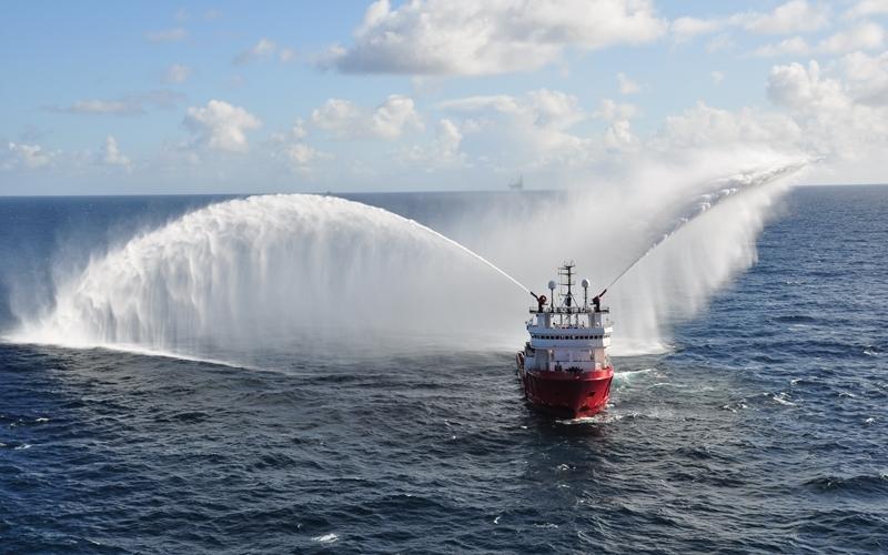 Atlantic Offshore's Ocean King vessel