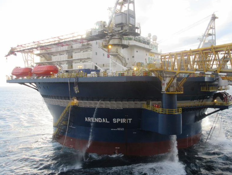 Teekay Offshore's Arendal Spirit UMS