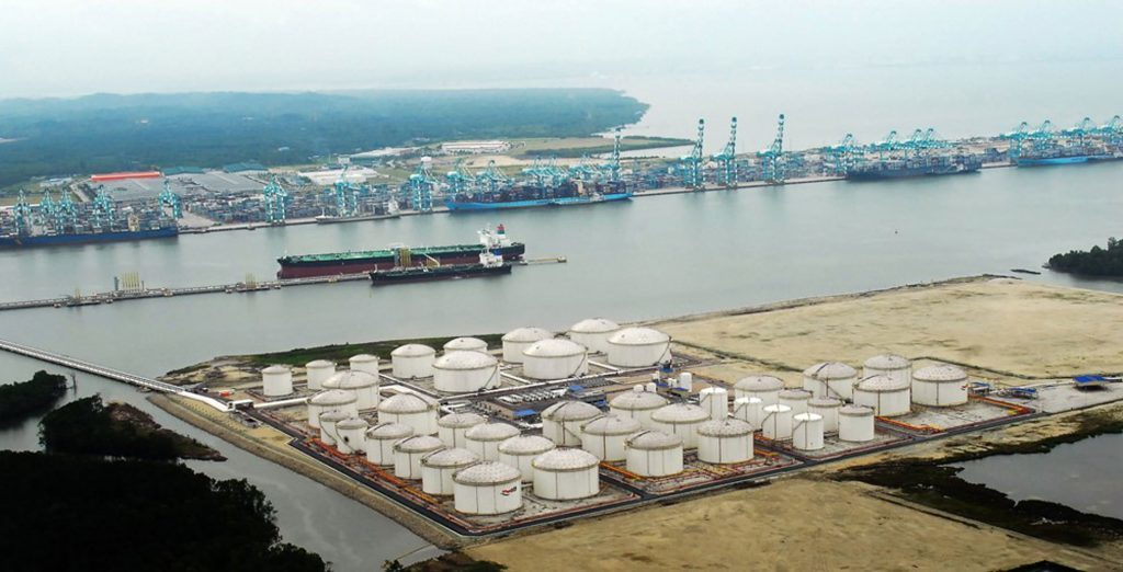 VTTI's ATT Tanjung Bin terminal in southern Malaysia