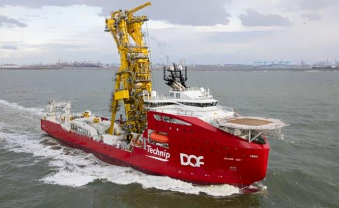 A file photo of a DOF Subsea vessel