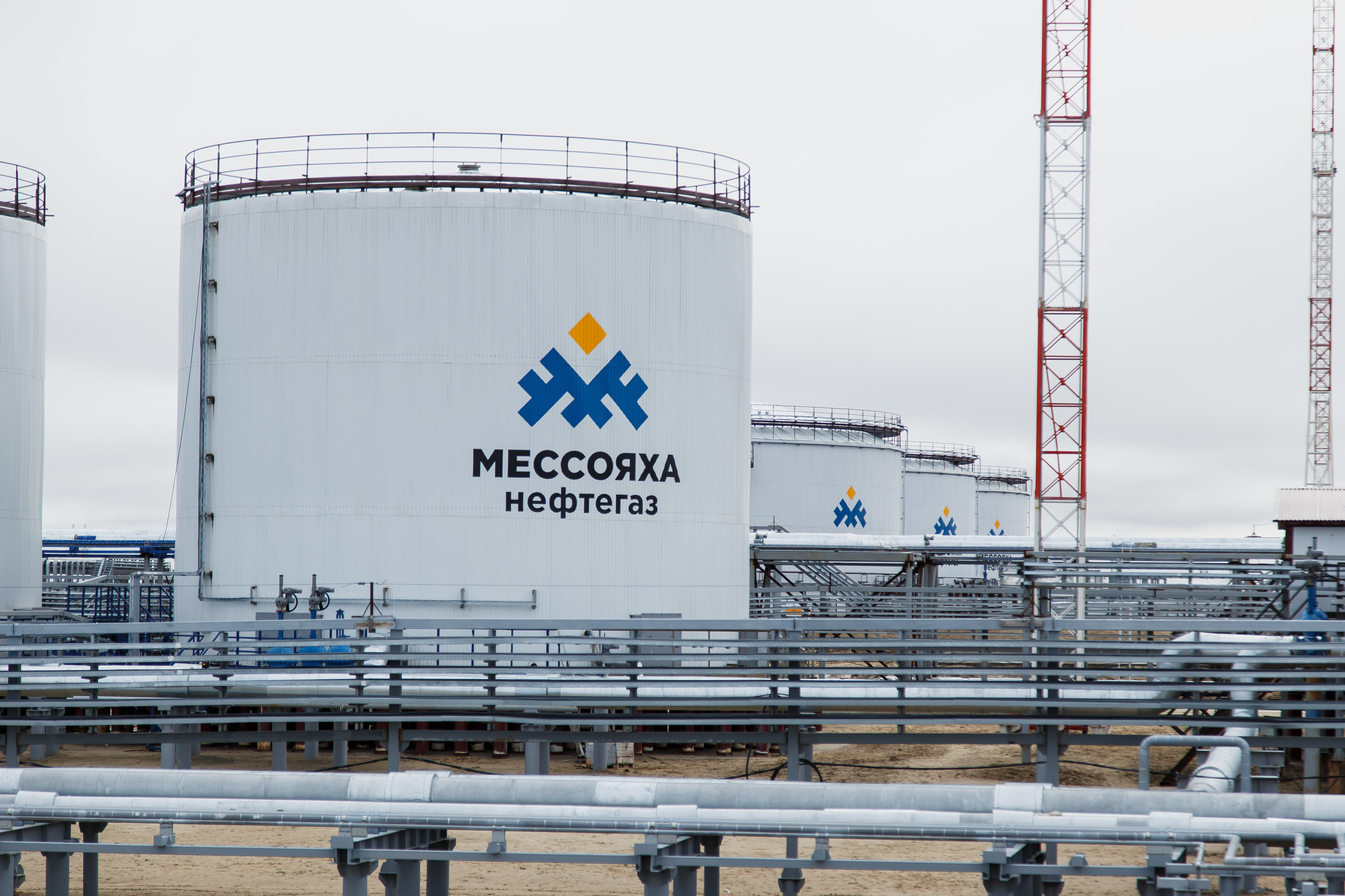 Storage facilities for GazpromNeft's Messoyakha field