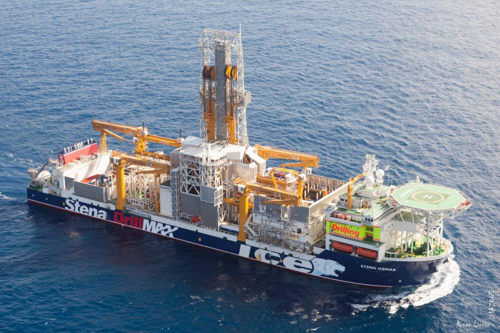 The Stena IceMAX drillship
