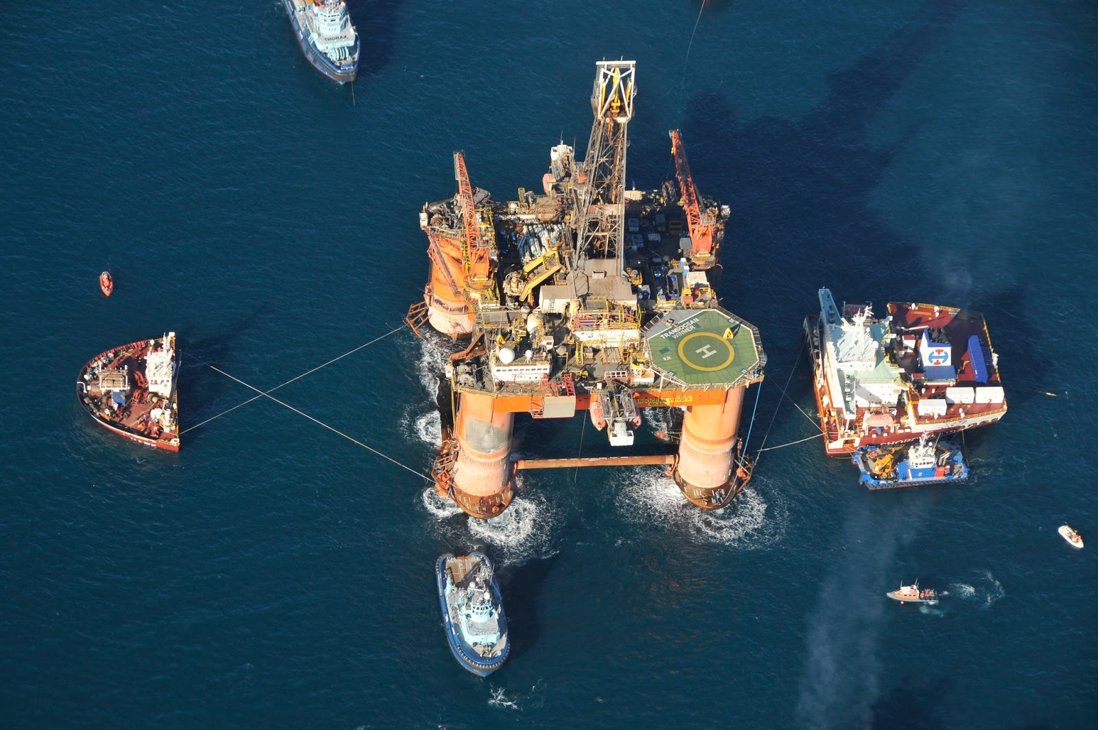 The Transocean Winner. Picture courtesy of MCA.