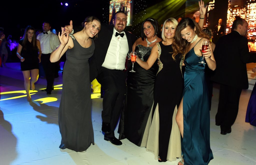 The Press and Journal Energy Ball at AECC, Aberdeen.  Picture by Jim Irvine  1-10-16