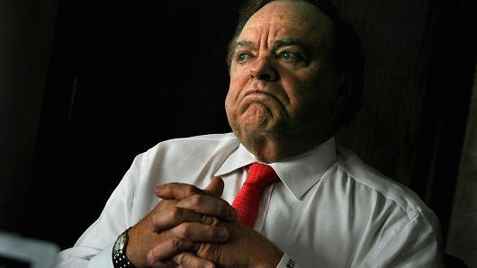 Billionaire oil and gas boss Harold Hamm has made it onto the Forbes Rich List