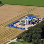 Drilling rig arrives at Lancashire fracking site