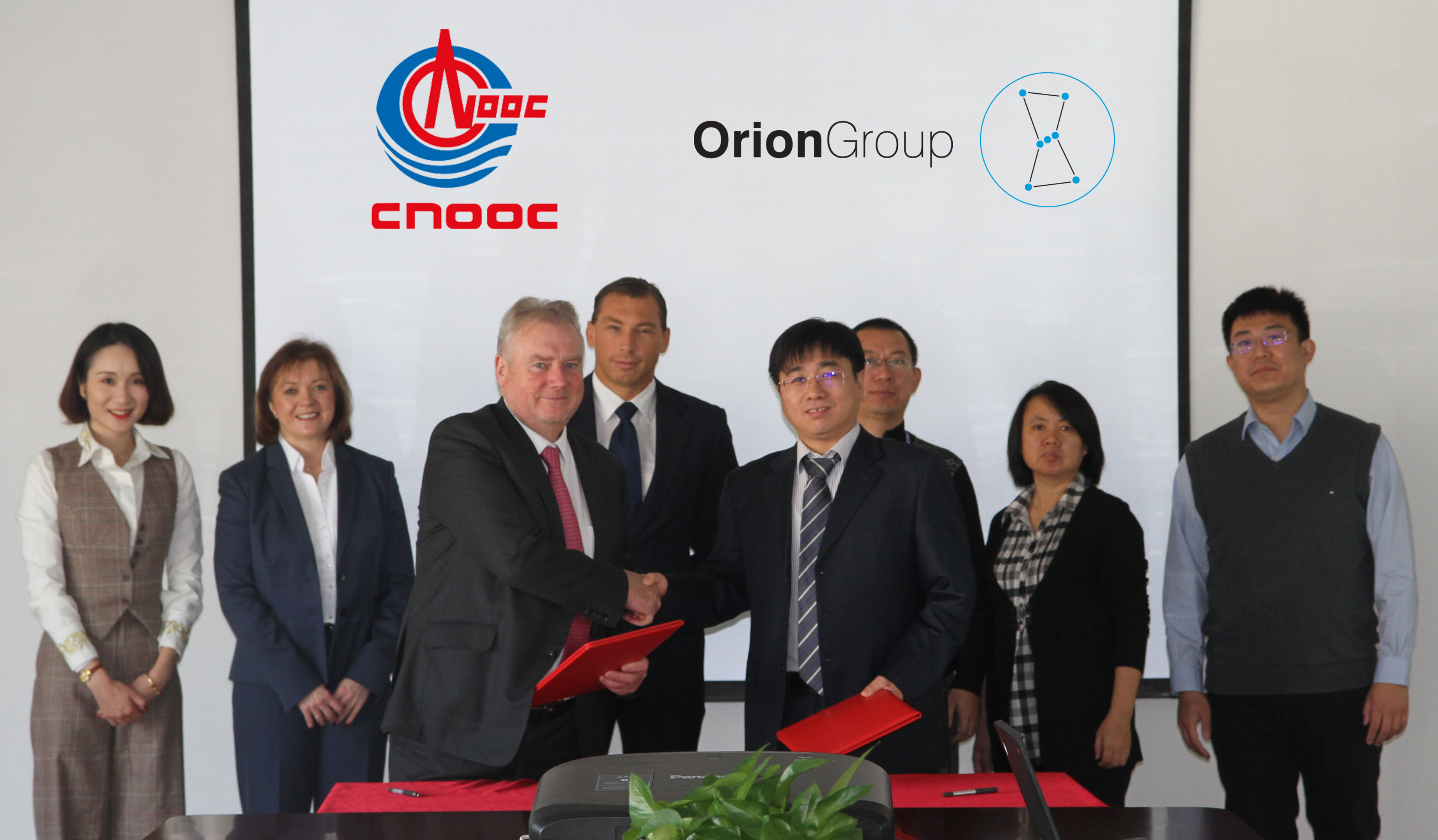 CNOOC and Orion Group have struck a deal