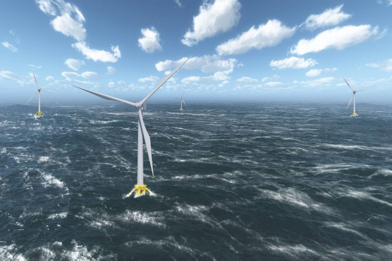 EDF's pilot floating windfarm